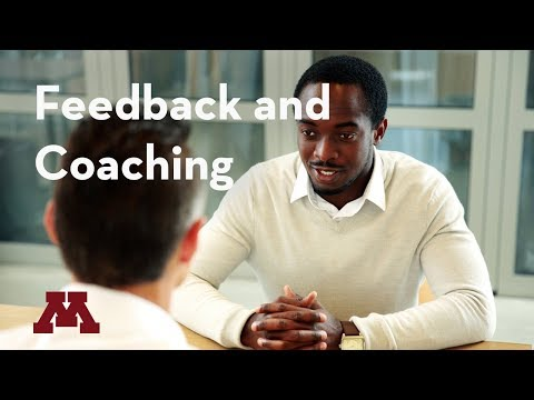 Supervisory Development: Feedback and Coaching Webinar