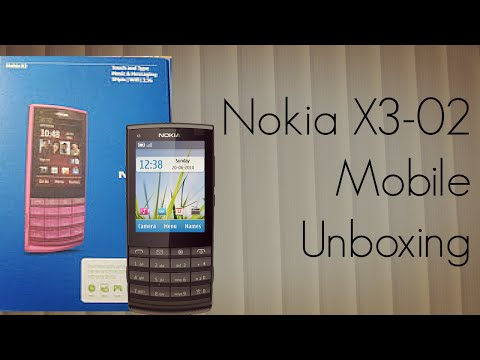 Nokia X3-02 Mobile Unboxing - Touch and Type Phone
