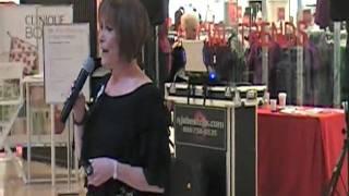Becky Orsati singing Starting Here