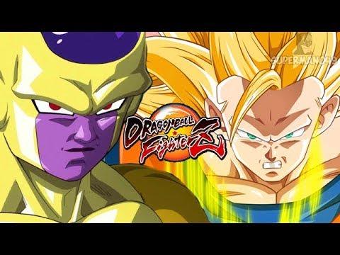 Playing As Golden Frieza, Super Saiyan 3 Goku & OG Vegeta - Dragon Ball FighterZ PC Mod