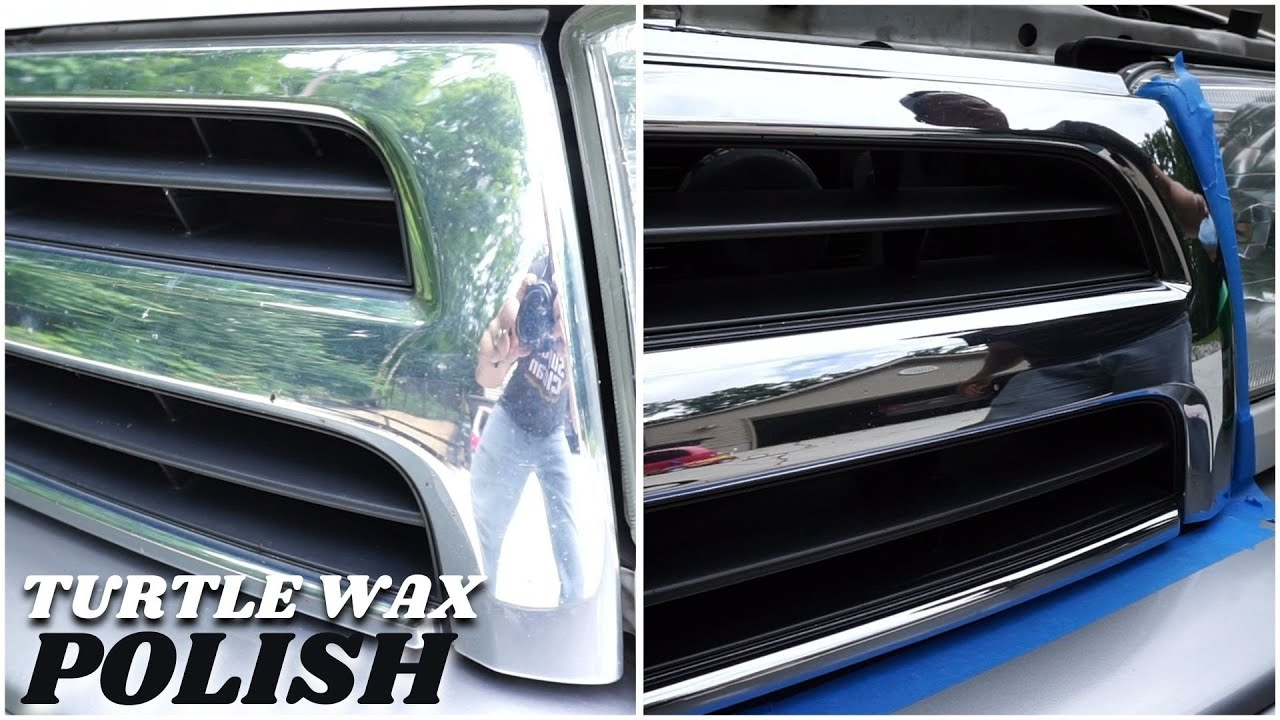 Turtle Wax Chrome Polish Review Youtube