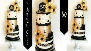 Making This 50 & Fabulous Cake!