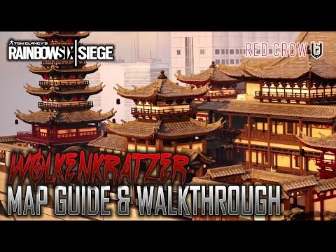 Rainbow Six: Siege WOLKENKRATZER - Map Guide & Walkthrough - Red Crow (German/Deutsch) [HD]