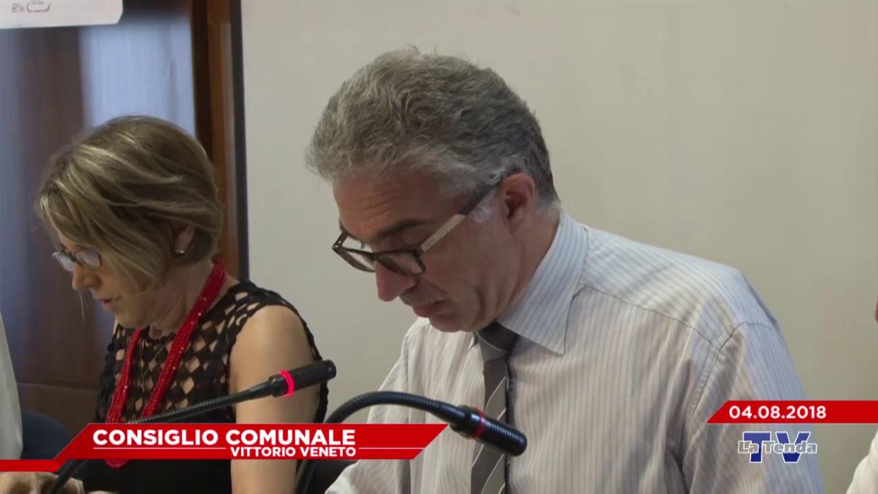 CONSIGLIO COMUNALE VITTORIO VENETO - Seduta del 04.08.2018