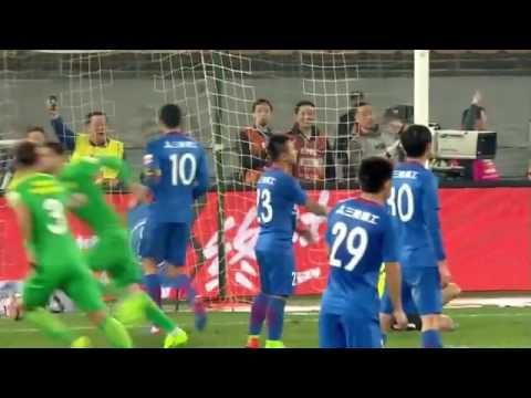 CHINESE SUPER LEAGUE HIGHLIGHTS 🇨🇳 | Beijing Guoan 2-1 Shanghai Shenhua