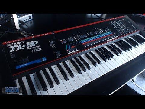 SoundsAndGear Live - Just Got A Roland JX3P Vintage Analog Synth