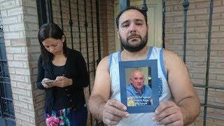 DESGARRADOR: Habla el hijo del jubilado muerto