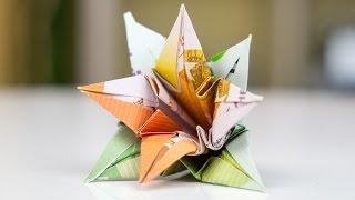 Repeat youtube video Geldgeschenk Hochzeit: Blumen falten
