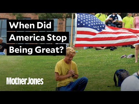 """We asked Trump voters: """"When did America stop being great?"""""""