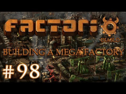 Factorio - Building a Mega Factory: Part 98 A new copper mine