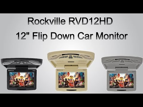 New Audiovox Flip Down Monitors 10 Amp 13 Doovi