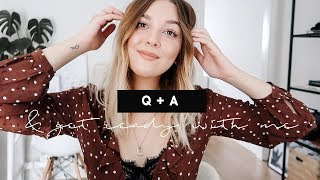 DATING + LIFE Q&A WHILE I TRY NEW MAKEUP | I Covet Thee