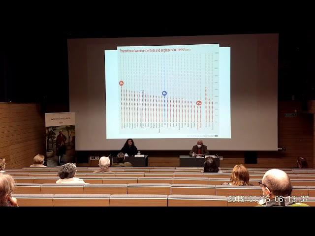 Teresa Valdés-Solís   'Mujeres de Ciencia y Carbón'   Conferencia