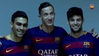 Fotografia oficial del Barça B