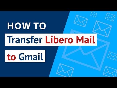 How to Transfer Libero Mail to Gmail   Libero Mail Converter to Migrate Libero to Gmail
