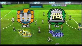 Inazuma Eleven Strikers - Competition Raimon Vs Zeus (Dolphin Emulator)