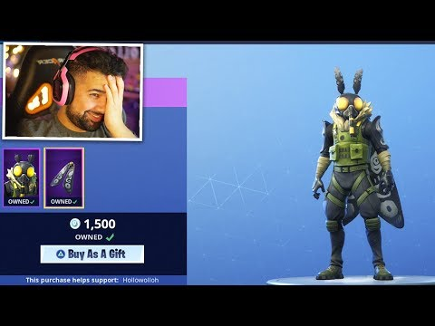 Fortnite actually added a MOTH skin..