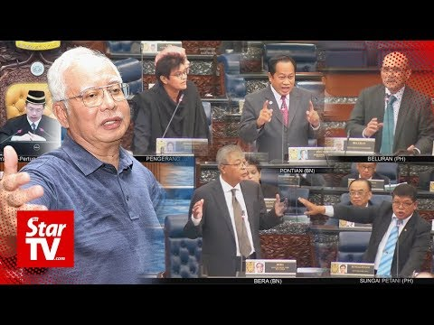 Heated debate in Parliament over Najib's three month suspension