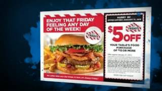 TGI Fridays Coupons - Enjoy Your Favourite Meals At Reasonable Discounts(, 2012-10-25T08:01:38.000Z)