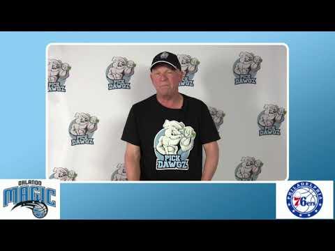 Philadelphia 76ers vs Orlando Magic 8/7/20 Free NBA Pick and Prediction NBA Betting Tips