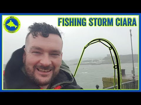 Fishing STORM CIARA In Plymouth, One Of My Hardest Sessions - Sea Fishing Adventures #5