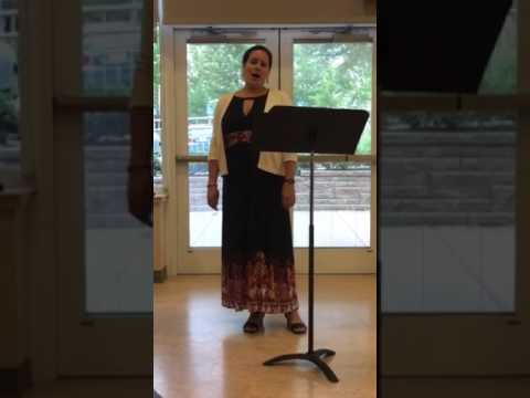 Cleveland Institute of Music Opera Singer