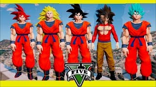 Video Gta 5 Dragon Ball Z Mod TODAS LAS TRANSFORMACIONES DE GOKU Thejairovy download MP3, 3GP, MP4, WEBM, AVI, FLV April 2018