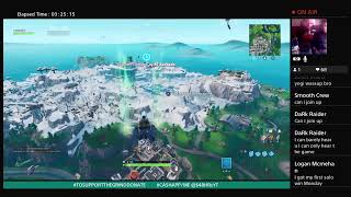 FORTNITE THE LIVE SHOW * WHO CAN GET FIRST SOLO WIN *FT. MBJ (NEPHEW)J.R