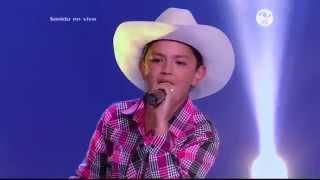 Anderson cantó Allá en el rancho grande  – LVK Col – Audiciones a ciegas – Cap 4 – T2
