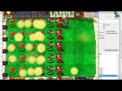 hack plants vs zombies bằng cheat engine - 1 số kiểu hack PvZ Goty bằng trainer+40