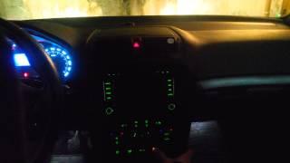 Кнопка парктроника задействована на ключение сигнала с дальним светом
