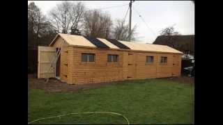 Building A New Timber Garage By Direct Sectional Buildings