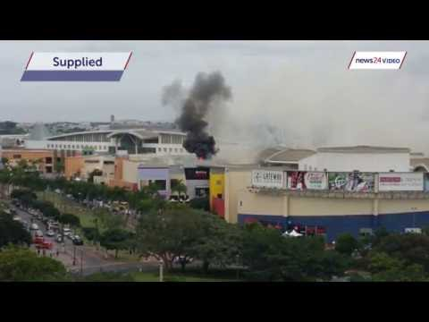 WATCH: Smoke billows from Gateway Theatre of Shopping