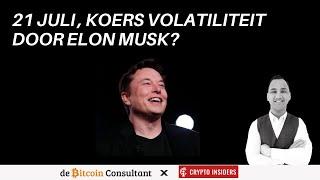 21 juli volatiliteit 📈 📉 ? PUMP of DUMP door Elon Musk?  Analyse BTC/ETH/ATOM/BNB/DOGE/ICP/RUNE