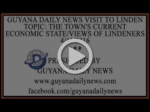 Guyana Daily News Visit To Linden || Presented By Guyana Dai