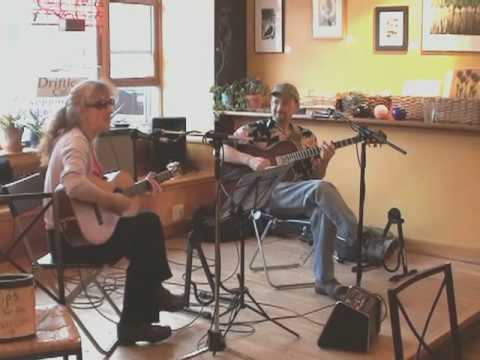Ted and Catherine At The Driftless Cafe, Viroqua