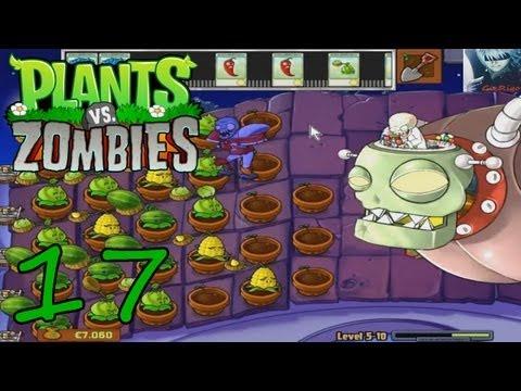 Let's Play Pflanzen vs. Zombies [17] - Dr. Edgar Zomboss [DE/HD]