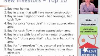 Get Rich Slow Investing in Real Estate -- Part 3 of 4