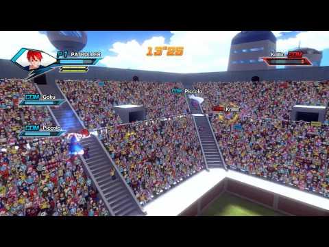 เกมส์ต่อสู้ PC Dragon Ball Xenoverse ฉากลานประลอง