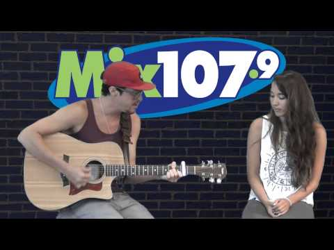 Alex & Sierra  - Toxic / Thrift Shop (Acoustic live at Mix 107.9)