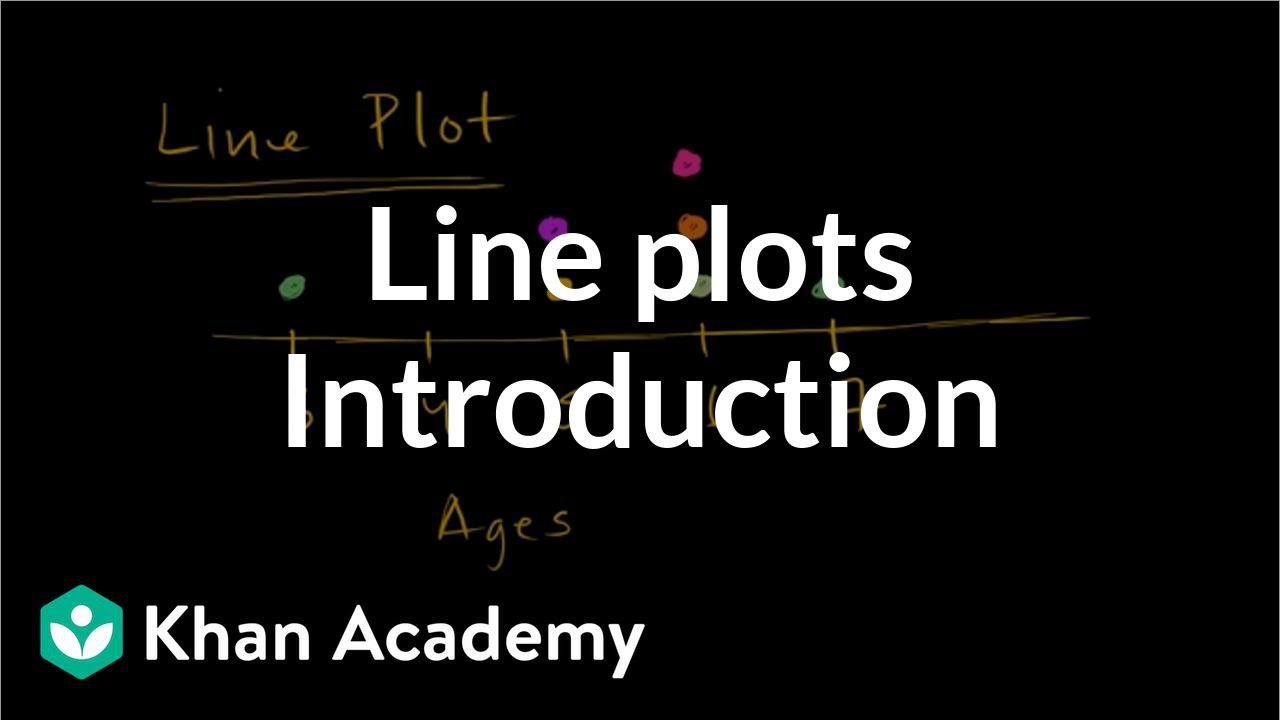 Read line plots (video) | Line plots | Khan Academy