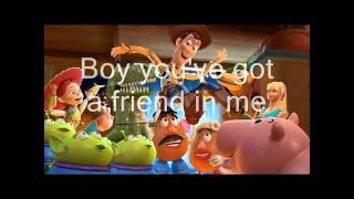 Copy of Toy Story   You've got a friend in me   lyrics