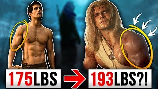 """Henry Cavill """"Witcher"""" Workout & Diet! 