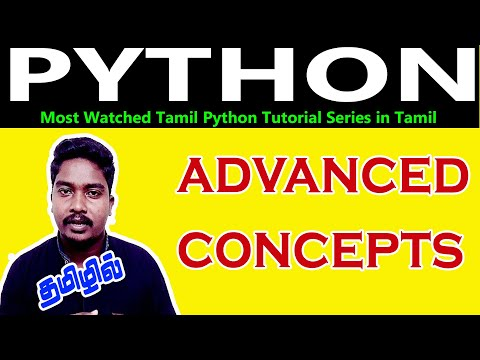 Advanced Full Python Tutorial in Tamil | Python Tutorial in Tamil thumbnail