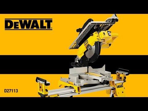 scie radiale dewalt dw8103 dewalt dw8103 radial saw doovi. Black Bedroom Furniture Sets. Home Design Ideas
