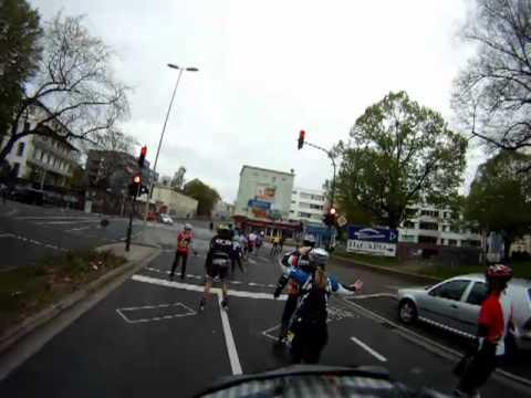 Deutsche Post Inline-Halbmarathon Bonn am 22.4.2012