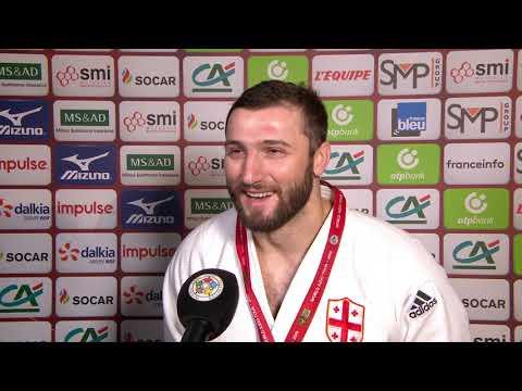 Varlam LIPARTELIANI (GEO) Gold Paris Grand Slam 2019