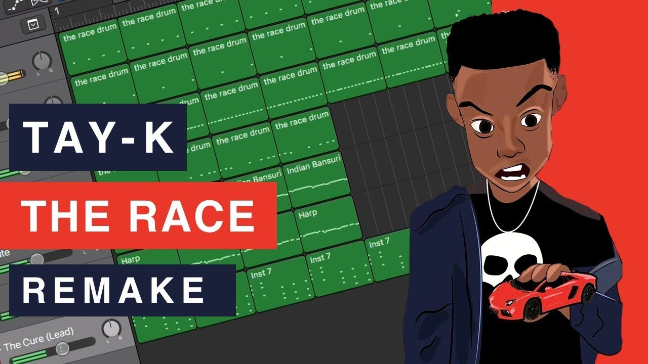 Making a Beat: Tay-K – The Race (Remake)