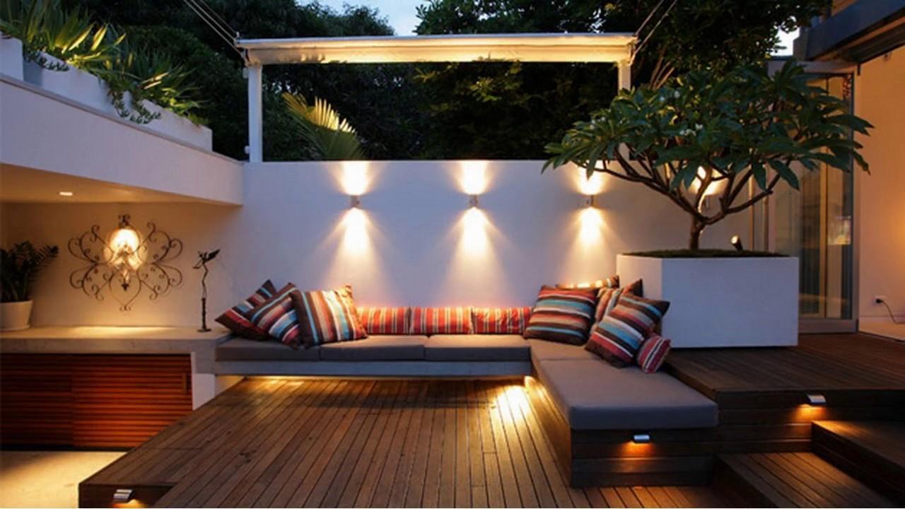 Hermoso patio pequeo jardn ideas de diseo para la casa YouTube