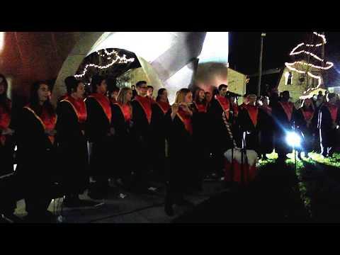School choir ~ Murphysboro High School Madrigals singers